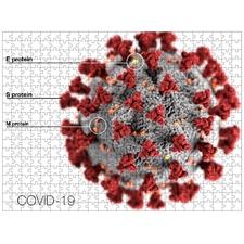 Coronavirus CoVid-19 Jigsaw Puzzle