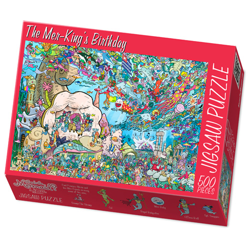 Custom 70 or 500-Piece Puzzle for Puzzle Company