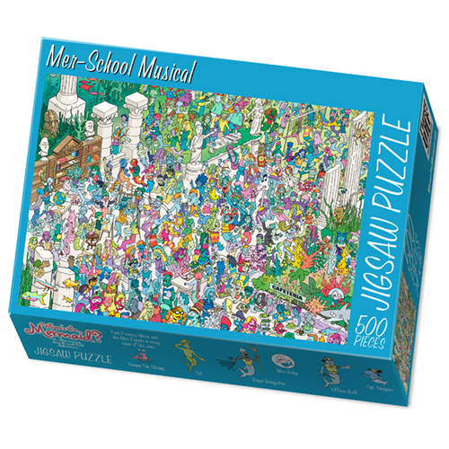 Create Own 500 or 70-Piece Custom Puzzle