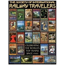 The World's Top 25 Trains Poster, The Society of International Railway Travelers