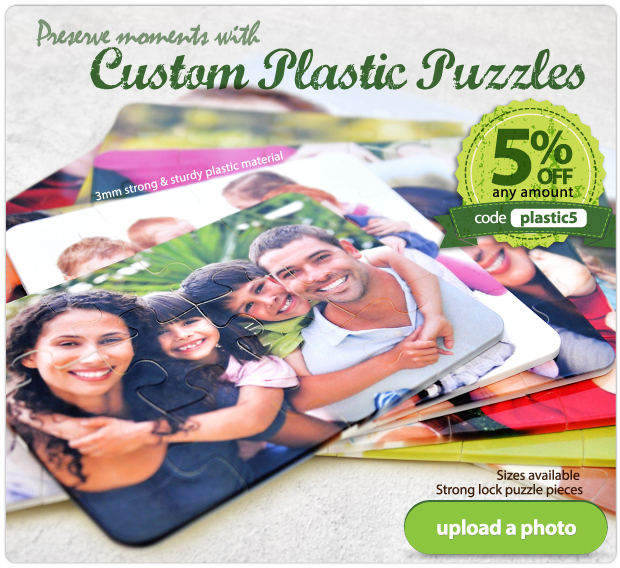 Preserve moments with Custom Plastic Puzzles