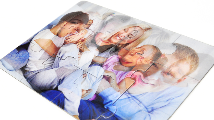 Personalized Lenticular Puzzle 5x7
