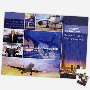 12x16.5 inch 54-piece puzzle for business