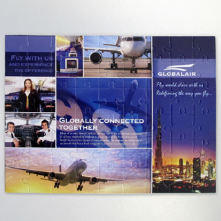 16.5x12inch custom photo puzzle for corporate