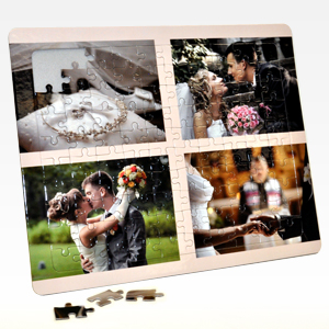 8x10 wedding photos puzzle